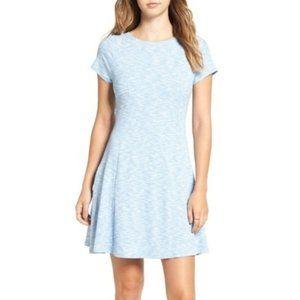 Topshop Space Dye Skater Dress - Size 6